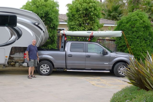 Kayak Racks For Pickup Trucks >> Fifth Wheel Kayak Truck Racks Fifth Wheel Magazine