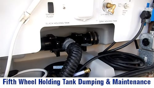 How to dump RV black and grey water Holding tanks