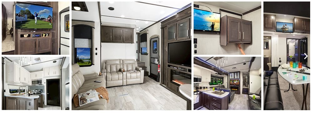 Popular Toy Hauler Fifth Wheel Camper Floor Plans Fifth Wheel Magazine