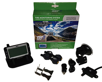 TST Truck Fifth Wheel Tire Pressure Monitoring System TPMS
