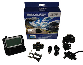 TST Truck Fifth Wheel 3.5 inch display Tire Pressure Monitoring System TPMS