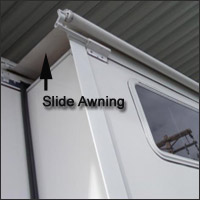 Without An Awning One Normally Has To Have A Ladder Check The Top Of Slides Before Retracting Them